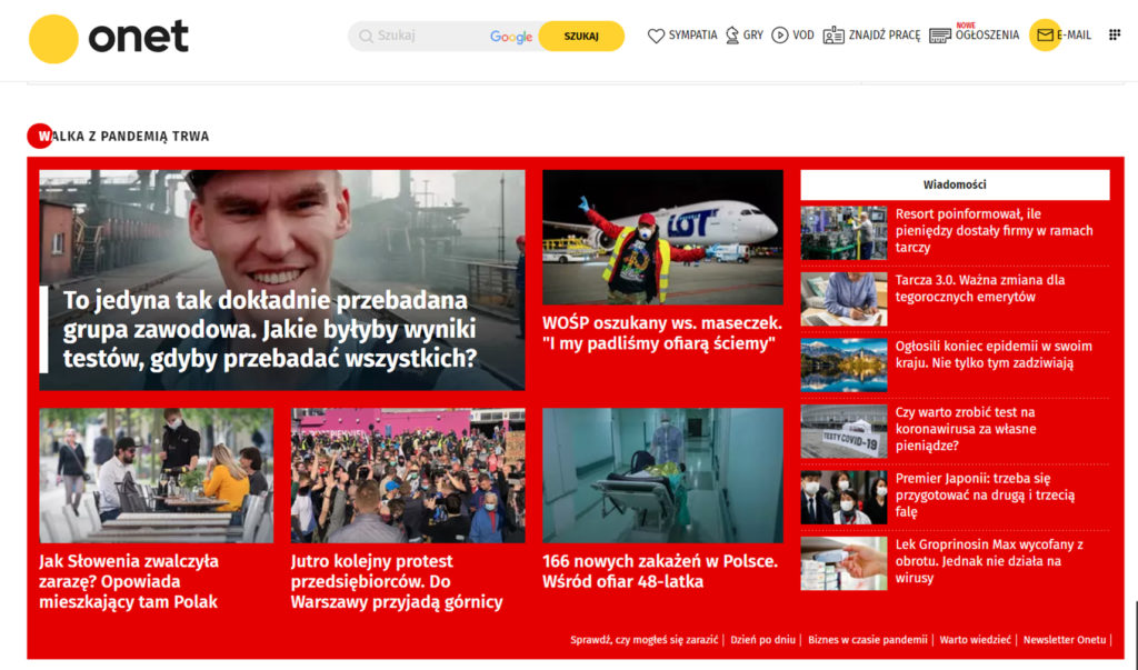 Publikacja wOnet.pl - Mateusz Paszek