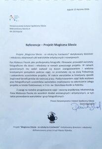 Referencje Magicznej Silesii po współpracy z Wizerunkuj.pl