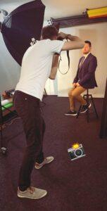 Sesja wizerunkowa w studio fotograficznym