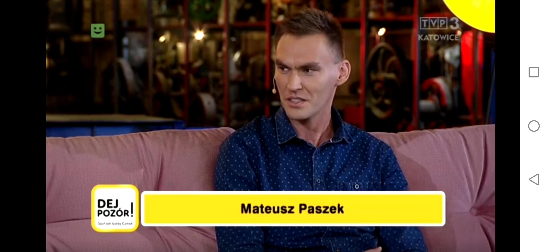 Wystąpienie wTVP Katowice - Dej Pozór