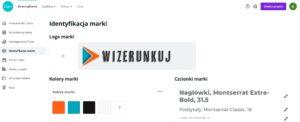 Canva - identyfikacja marki